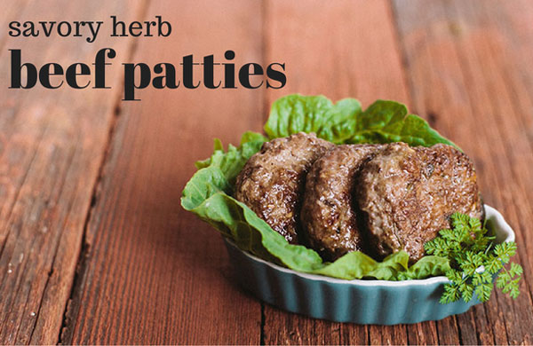 Savory Herb Breakfast Patties + The Autoimmune Paleo Cookbook Giveaway