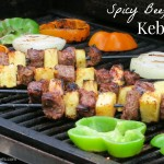 spicy beef kebab by myheartbeets.com