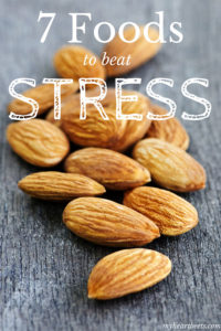 7 foods to beat stress by myheartbeets.com