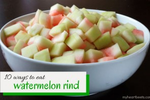 10 ways to eat watermelon rind by myheartbeets.com