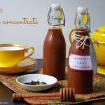 homemade chai concentrate by myheartbeets.com