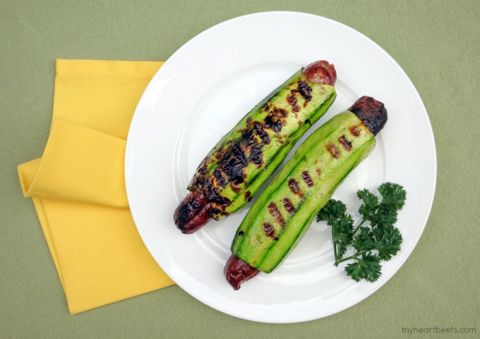 4 ways to eat a Hot Dog without a Bun on myheartbeets.com