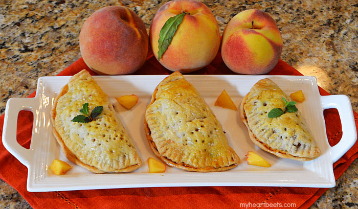 mini fruit pie -  myheartbeets.com