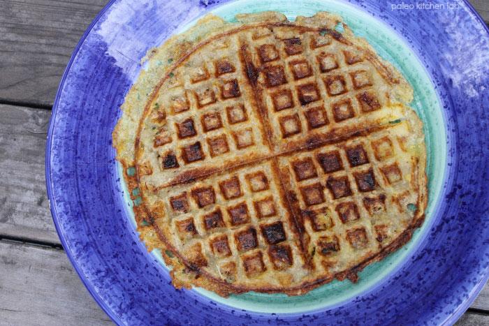 banana yuca waffles recipe on myheartbeets.com