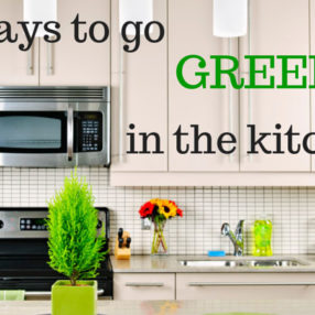 Learn how to go green in the kitchen on myheartbeets.com