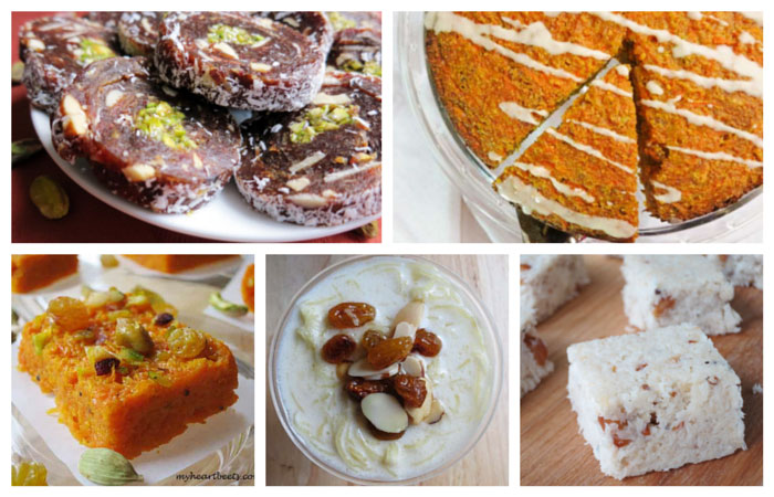 Paleo Diwali Desserts by myheartbeets.com