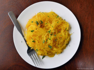 how to make spaghetti squash - 4 different methods via myheartbeets.com