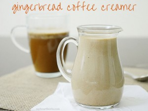 gingerbread coffee creamer by myheartbeets.com