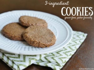 3-Ingredient Cookies