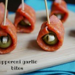 pepperoni garlic bites by myheartbeets.com