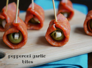 Pepperoni Garlic Bites