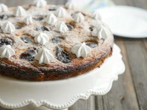 Plum cake by myheartbeets.com