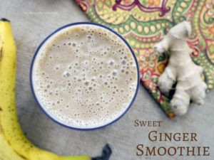 Sweet Ginger Smoothie