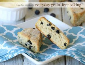 blueberry lemon scones - recipe on myheartbeets.com