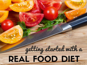 getting started with a real food diet by myheartbeets.com