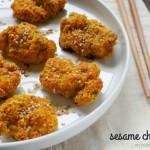 paleo sesame chicken by myheartbeets.com