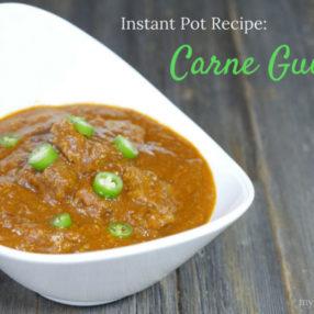 Instant Pot Pressure Cooker Recipe: Carne Guisada on myheartbeets.com