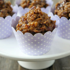 German Chocolate Cupcakes - Paleo and Gluten-free by myheartbeets.com