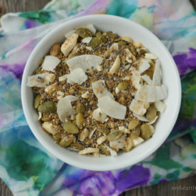 Paleo Summer Cereal by myheartbeets.com