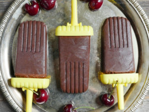 Cherry Fudge Pops