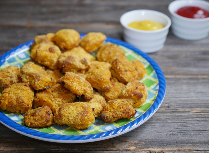 Baked Paleo Chicken Nuggets By Myheartbeets Com