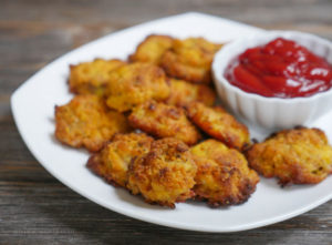 Coconut Flour Chicken Nuggets