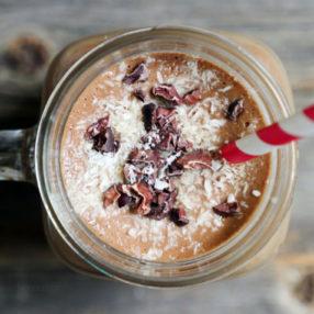 Frozen Coconut Mocha on myheartbeets.com