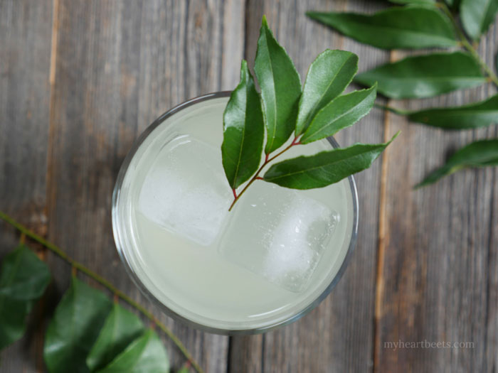 curry leaf cocktail by myheartbeets.com