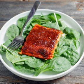 10-minute Tandoori Salmon by myheartbeets.com
