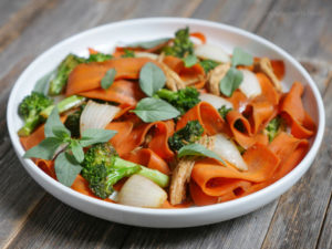 Carrot Drunken Noodles