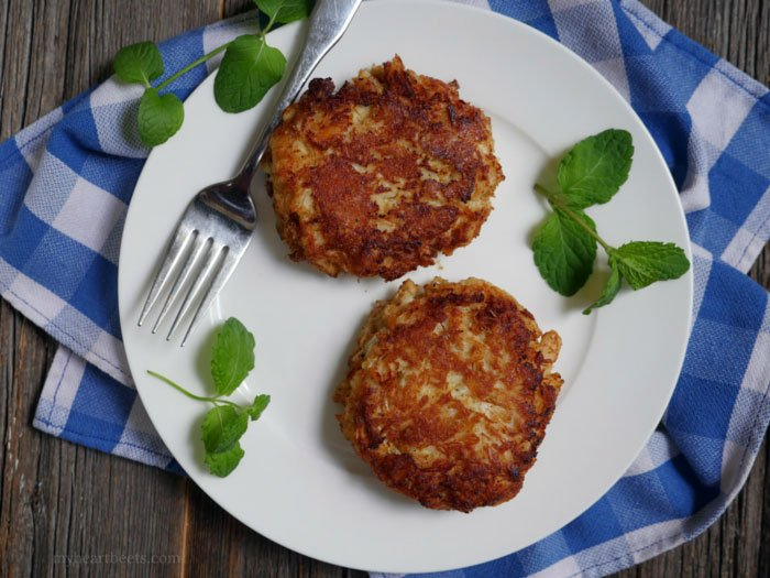 gluten-free Maryland crab cakes on MyHeartBeets.com
