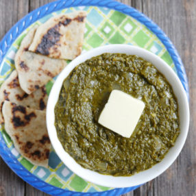 Saag made in an Instant Pot - recipe by MyHeartBeets.com