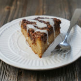 Paleo Cinnamon Coffee Cake by MyHeartBeets.com