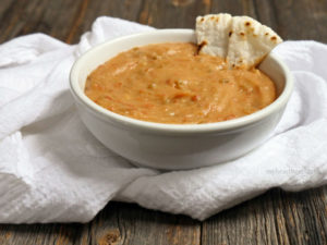 Dairy-free, Vegan & Paleo QUESO DIP by MyHeartBeets.com