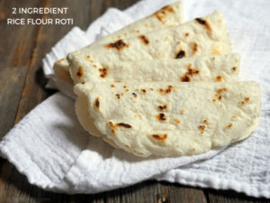 2-ingredient Rice Flour Roti