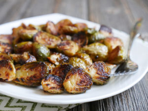 Chipotle Maple Brussels Sprouts