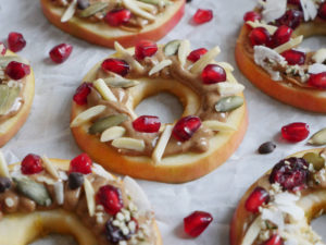 Holiday Apple Wreaths