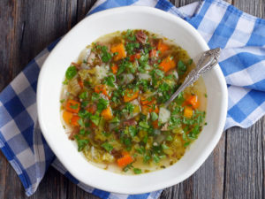 Garbure (French Ham and Vegetable Soup)