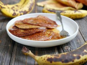 Gluten-free Banana Malpua (Cardamom Spiced Banana Pancake)