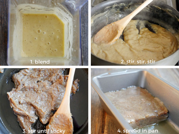 How to make 2-ingredient Banana Fudge (paleo, vegan, gluten-free, dairy-free, sugar-free) by Ashley of MyHeartBeets.com