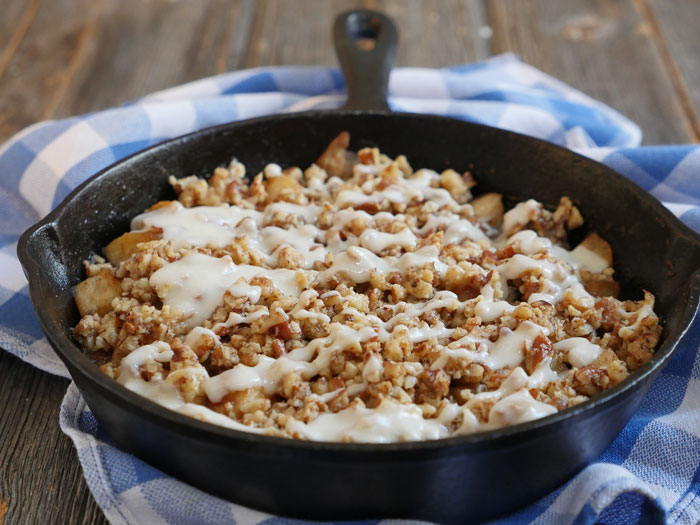 Skillet garam masala apple crisp my heart beets garam masala apple crisp in a skillet by ashley of myheartbeets forumfinder Images