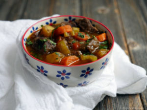 Easy Paleo Beef Stew by Ashley of MyHeartBeets.com