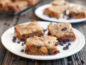 Cashew Butter Blondies