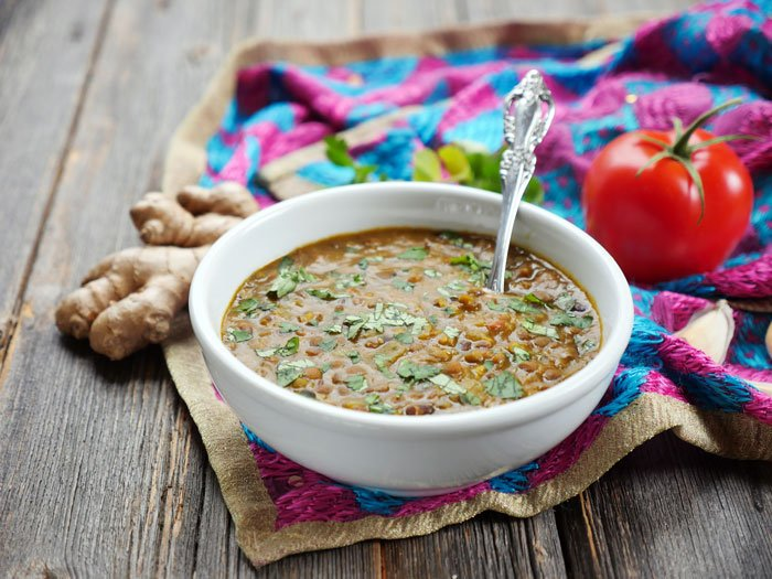 Instant Pot Dal Makhani: buttery lentils cooked in delicious Indian spices by Ashley of MyHeartBeets.com