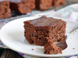 Chocolate Coconut Flour Cake by Ashley of My Heart Beets