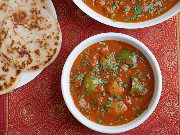 Butter Chicken by Ashley of MyHeartBeets.com