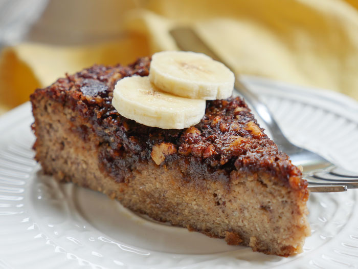 Banana Coffee Cake by Ashley of MyHeartBeets.com