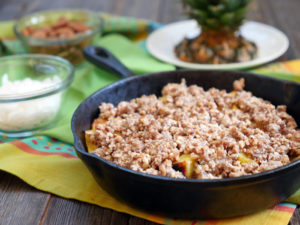 Grilled Pineapple Crisp