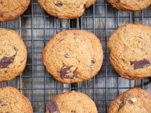 Paleo Chocolate Chunk Cookies on MyHeartBeets.com