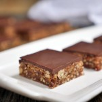 Chocolate Covered Nut Bars by Ashley of MyHeartBeets.com